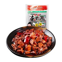 哈哥 四川特产 麻辣兔肉干48g 休闲零食小吃 兔肉丁